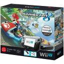 【中古】[本体][WiiU]Wii U すぐに遊べる マリオカート8 セット クロ(WUP-S-KA ...