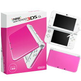 【中古】[本体][3DS]Newニンテンドー3DS LL ピンク×ホワイト(RED-S-PAAA)(20160609)【RCP】