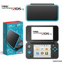 【新品即納】[本体][3DS]Newニンテンドー2DS LL ブラック×ターコイズ(JAN-S-BA...