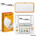 【新品即納】[本体][3DS]Newニンテンドー2DS LL ホワイト×オレンジ(JAN-S-OAAA)(20170713)