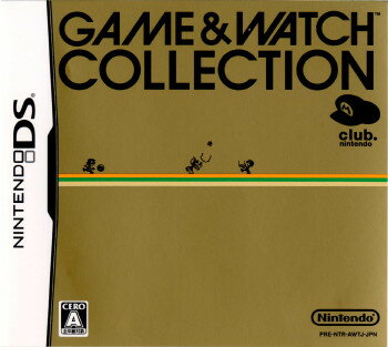 Nintendo DS, ソフト NDS (GAME WATCH COLLECTION)(20060101)