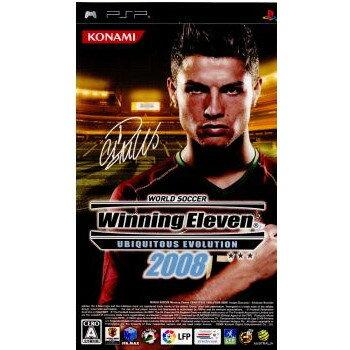 【中古】【表紙説明書なし】[PSP]WORLD SOCCER Winning Eleven UBIQUITOUS EVOLUTION 2008 (ワールドサッカーウイニングイレブン ユビキタスエヴォリューション2008)(20080124)