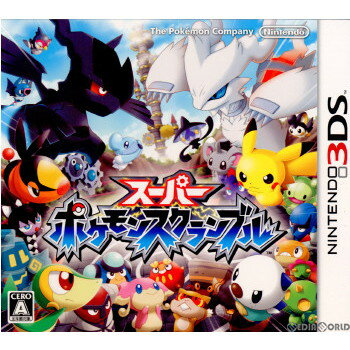 Nintendo 3DS・2DS, ソフト 3DS(Super Pokeacute;mon Scramble)(20110811)