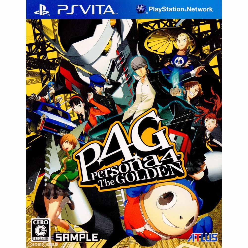 プレイステーション・ヴィータ, ソフト PSVita4 (Persona4 The GOLDEN P4G)(20120614)