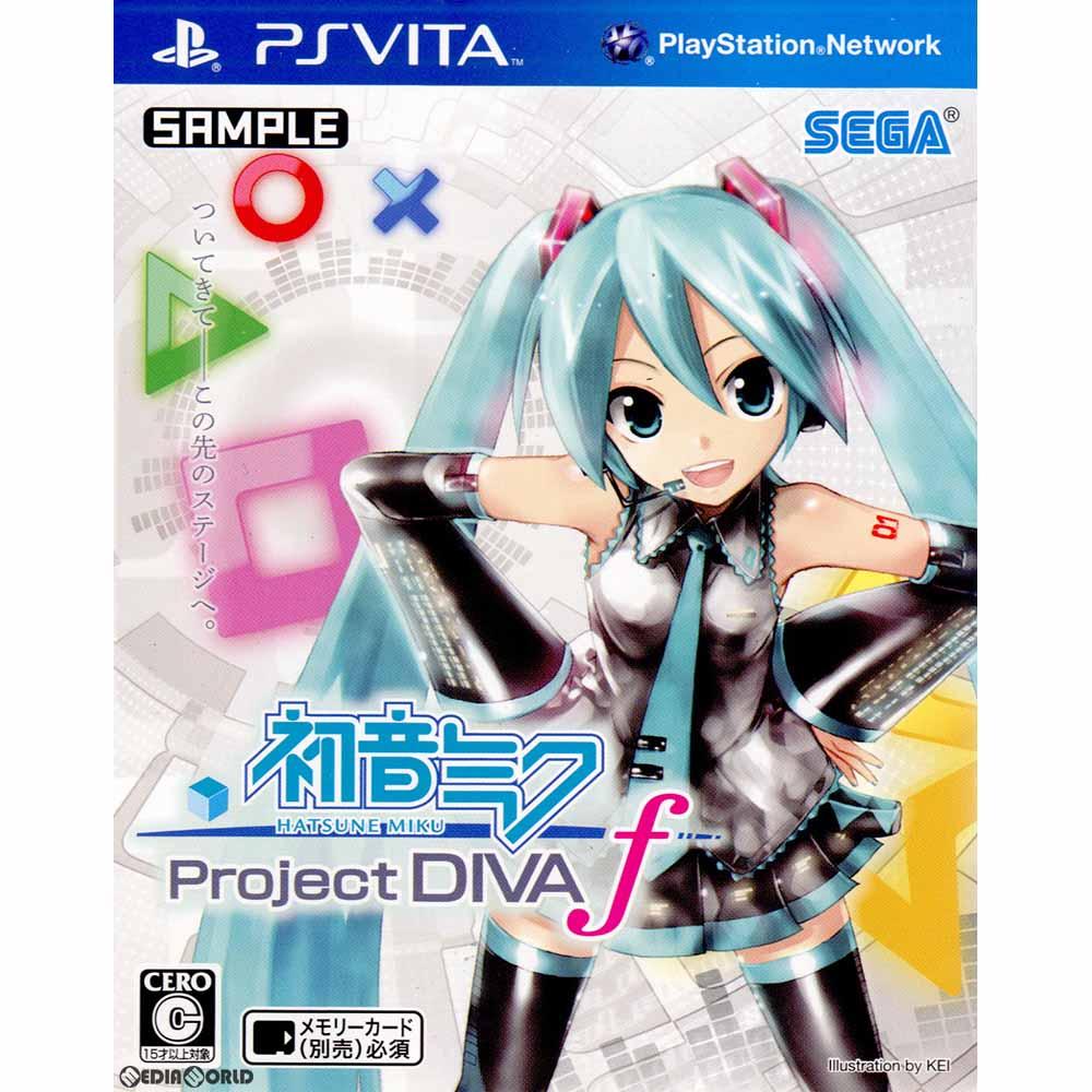 プレイステーション・ヴィータ, ソフト PSVita -Project DIVA- f(HATSUNE MIKU )(20120830)