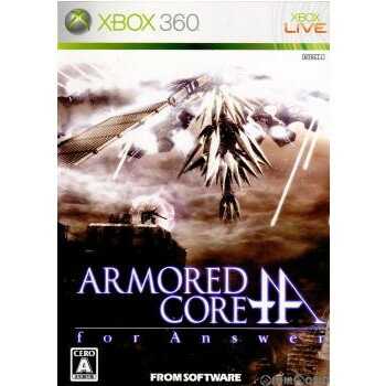 Xbox360, ソフト Xbox360ARMORED CORE for Answer( )(20080319)