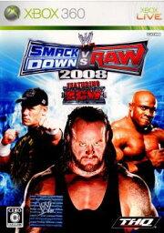 【中古】[Xbox360]WWE2008 SmackDown vs Raw(スマックダウンVSロウ)(20080214)