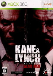 【中古】[お得品]【表紙説明書なし】[Xbox360]KANE&LYNCH:DEADMEN(ケイン アンド リンチ:デッドメン)(20080710)