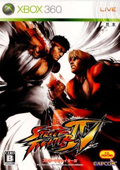 Xbox360, ソフト Xbox360IV(STREET FIGHTER 4)(20090212)