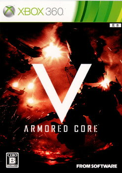 Xbox360, ソフト Xbox360ARMORED CORE V(5)(20120126)