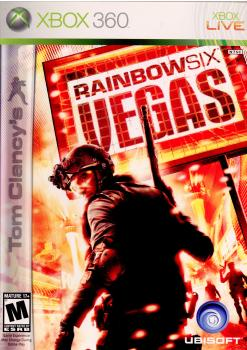 【中古】【表紙説明書なし】[Xbox360]Tom Clancy's Rainbow Six: VEGAS(トムクランシーズ レインボーシックス ベガス)(北米版)(20080201)