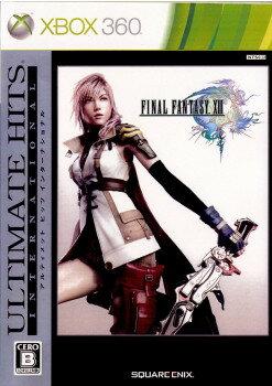 Xbox360, ソフト Xbox360ULTIMATE HITS INTERNATIONAL FINAL FANTASY XIII(13)(JES1-00108)(2010121 6)