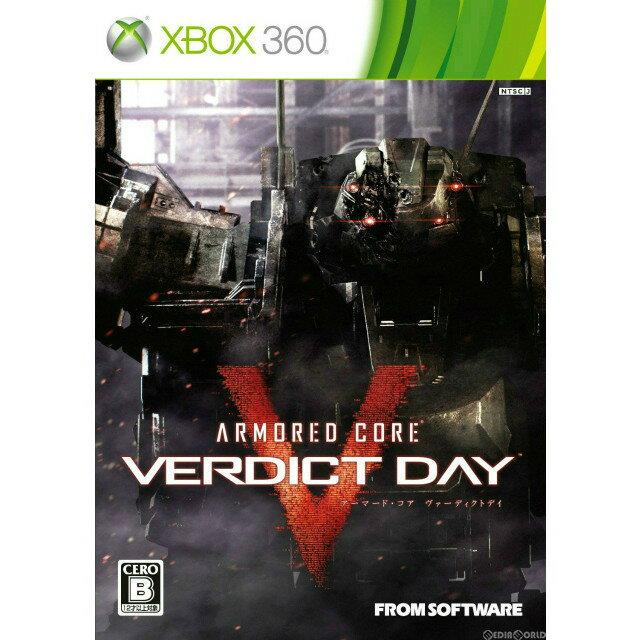 Xbox360, ソフト Xbox360ARMORED CORE VERDICT DAY( ) (20130926)