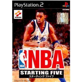 【中古】[PS2]NBA STARTING FIVE(エヌビーエースターティングファイブ)(20021205)