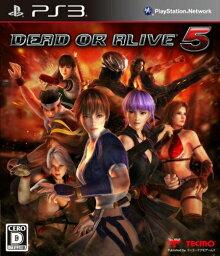 【中古】[PS3]DEAD OR ALIVE 5(デッド オア アライブ 5) 通常版(20120927)