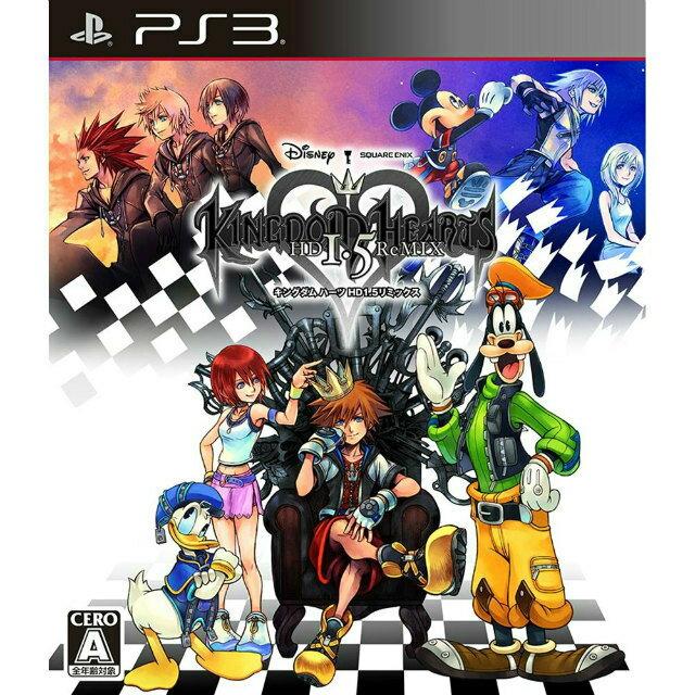 プレイステーション3, ソフト PS3KINGDOM HEARTS -HD 1.5 ReMIX-( HD 1.5 )(20130314)