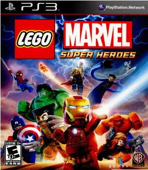 【中古】[PS3]LEGO Marvel Super Heroes(レゴ マーベル スーパー・ヒーローズ ザ・ゲーム)(北米版)(BLUS-31161)(20131022)