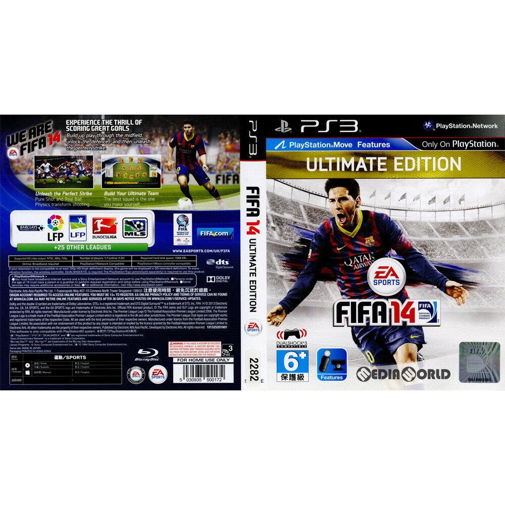 プレイステーション3, ソフト PS3FIFA 14 ULTIMATE EDITION()(BLAS-50637UE)(2013 0924)
