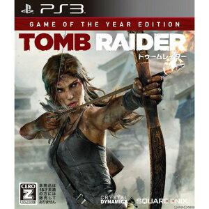 【中古】[PS3]トゥームレイダー ゲームオブザイヤー エディション(TOMB RAIDER Game Of The Year Edition)(20140327)