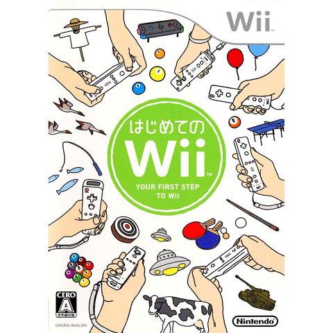 【中古】【表紙説明書なし】[Wii]はじめてのWii(ソフト単品)(20061202)
