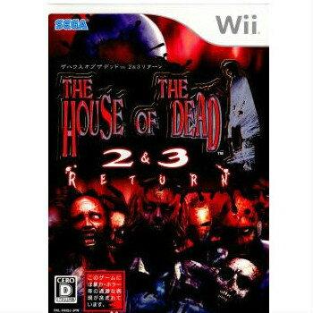 【中古】[Wii]ザ ハウス オブ ザ デッド 2&3 リターン(THE HOUSE OF THE DEAD II&III RETURN)(20080319)