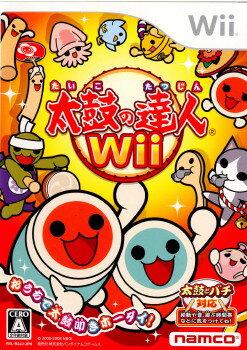 【中古】[Wii]太鼓の達人Wii 太鼓とバチ同梱版(20081211)