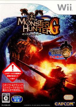 【中古】【表紙説明書なし】[Wii]モンスターハンターG(MHG)(20090423)