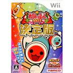 【中古】[Wii]太鼓の達人Wii 決定版(ソフト単品)(20111123)