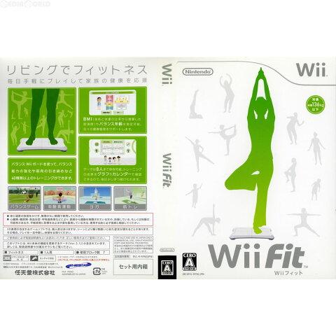 【中古】【表紙説明書なし】[Wii]Wii Fit(ウィーフィット)(ソフト単品)(20071201)