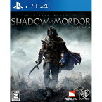 【中古】[PS4]シャドウ・オブ・モルドール(Middle-earth: Shadow of Mordor)(20141225)