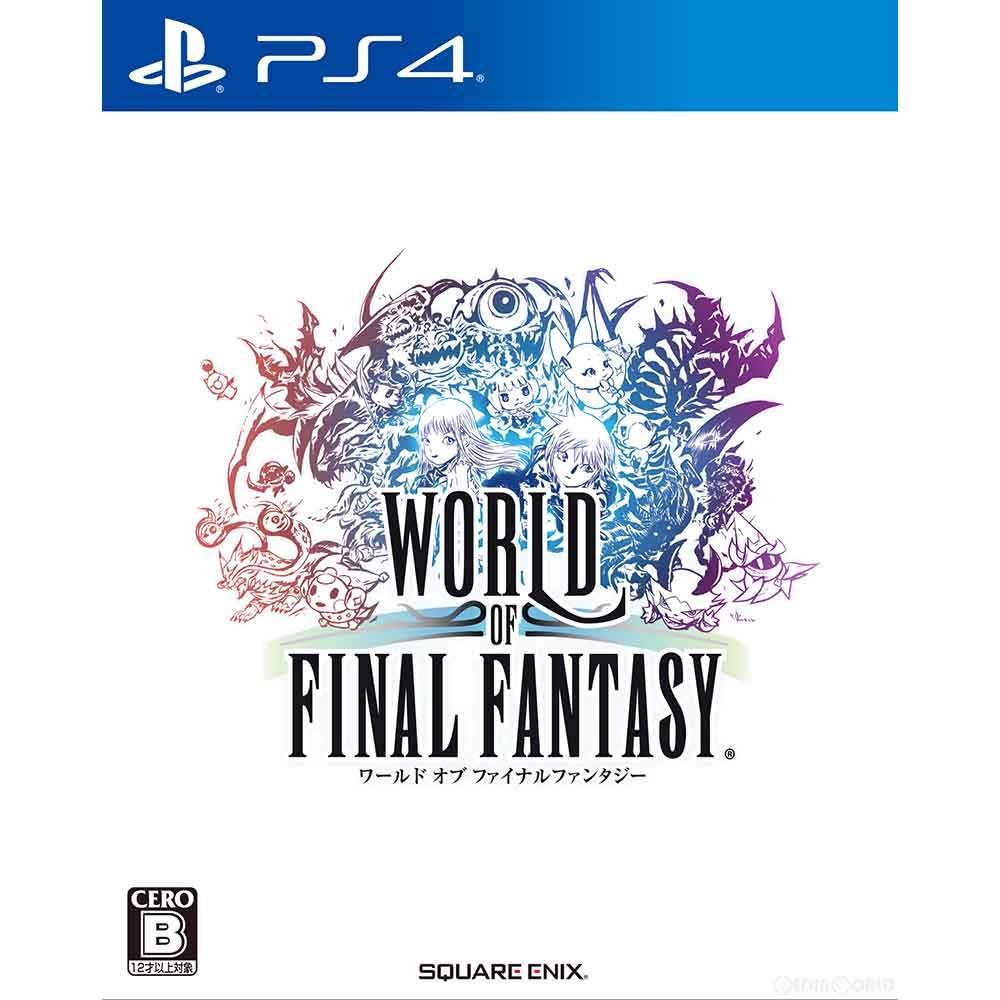 プレイステーション4, ソフト PS4 (WORLD OF FINAL FANTASYWOFF)(20161027)