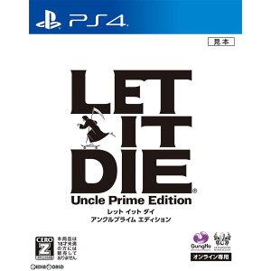 【予約前日発送】[PS4]LET IT DIE(レットイットダイ) アンクルプライム エディシ…