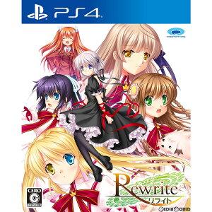 【予約前日発送】[PS4]初回特典付(ドラマCD「小さな幸せを求めて」) Rewrite(リラ…
