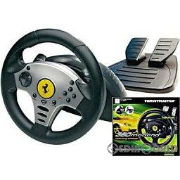 【中古】[ACC][Xbox]360 Modena Racing Wheel(モデナ レーシング ホイール) マイクロソフトライセンス商品 ギルモ(20020222)