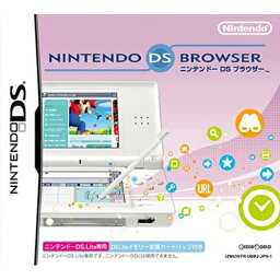 【中古】[ACC][NDS]ニンテンドーDS ブラウザー ニンテンドーDS Lite用(DS Liteメモリー拡張カートリッジ同梱) 任天堂(NTR-G-UBRJ)(20060724)