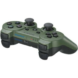 【中古】[ACC][PS3]ワイヤレスコントローラ デュアルショック3(DUALSHOCK3) ジャングル・グリーン SCE(CECH-ZC2JMY)(20110224)