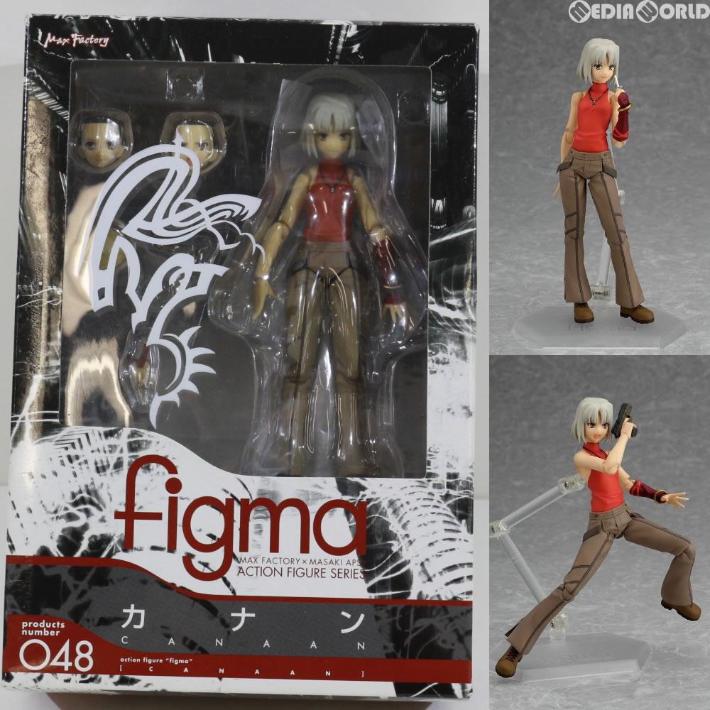 【中古】[FIG]figma(フィグマ) 048 カナン CANAAN 完成品 可動フィギュア マックスファクトリー(20091231)画像