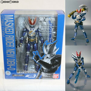 [Used] [FIG] SHFiguarts Kamen Rider NEW Den-O Strike Form (Trilogy Ver.) Kamen Rider Den-O Complete Moveable Figure Bandai (20110429)