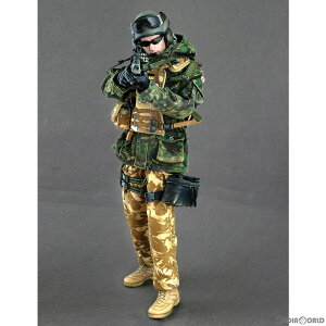 【中古】[FIG]ホットトイズ・ミリタリー British Army Blues And Royals Regiment In Afghanistan Tank Commander 1/6 完成品 可動フィギュア(M/SF/080834) ホットトイズ(20081231)