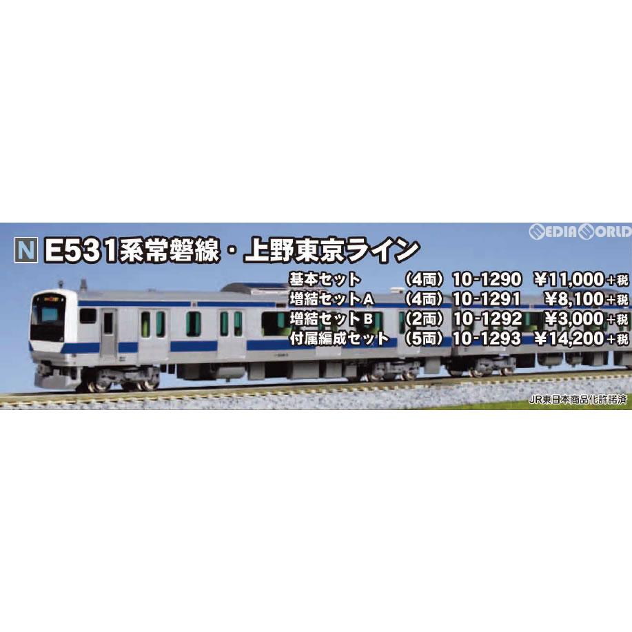 【予約安心発送】[RWM](再々販)10-1293 E531系 常磐線・上野東京…
