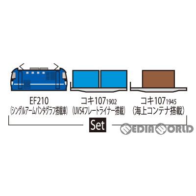 【予約安心発送】[RWM]98394 JR EF210形コンテナ列車セット(3両)…