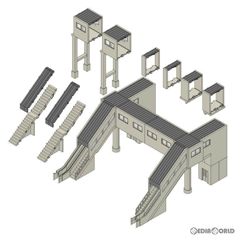 【予約安心発送】[RWM]4073 マルチ跨線橋エレベーター付セット Nゲージ 鉄道模型 TOMIX(トミックス)(20210918)