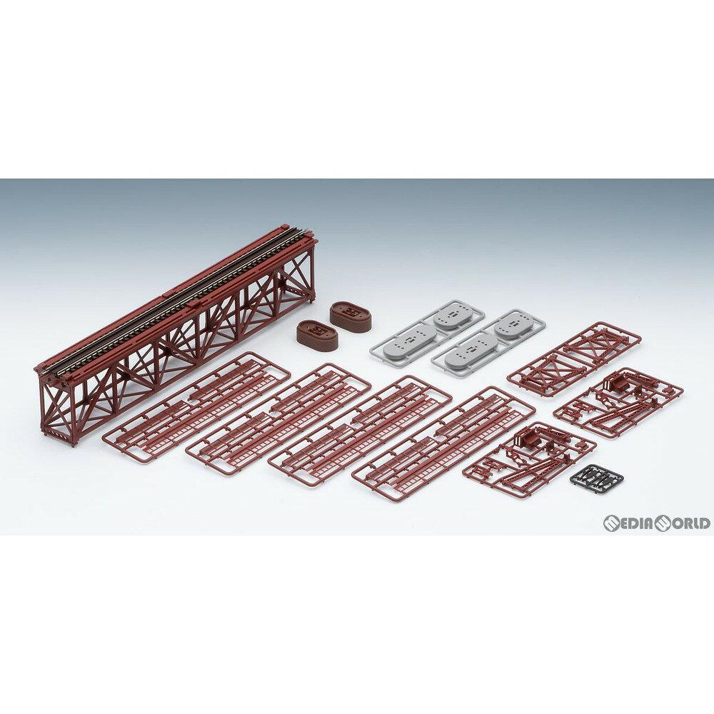 【予約安心発送】[RWM]3266 上路式単線トラス鉄橋S280(F)(赤)(れんが橋脚・2本付) Nゲージ 鉄道模型 TOMIX(トミックス)(2021年6月)