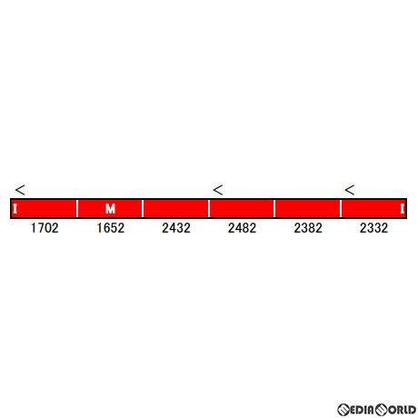 【新品即納】[RWM]50683 名鉄1700系(ありがとう1702編成) 6両編成セット(動力付き) Nゲージ 鉄道模型 GREENMAX(グリーンマックス)(20210820)