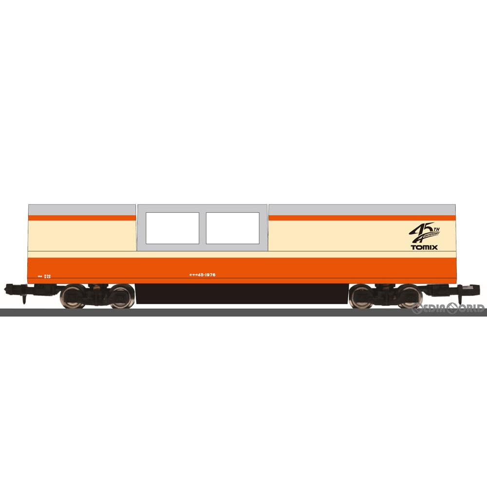 【予約安心発送】[RWM]6499 特別企画品 マルチレールクリーニングカー(トミックス45周年記念カラー)(動力無し) Nゲージ 鉄道模型 TOMIX(トミックス)(20210918)