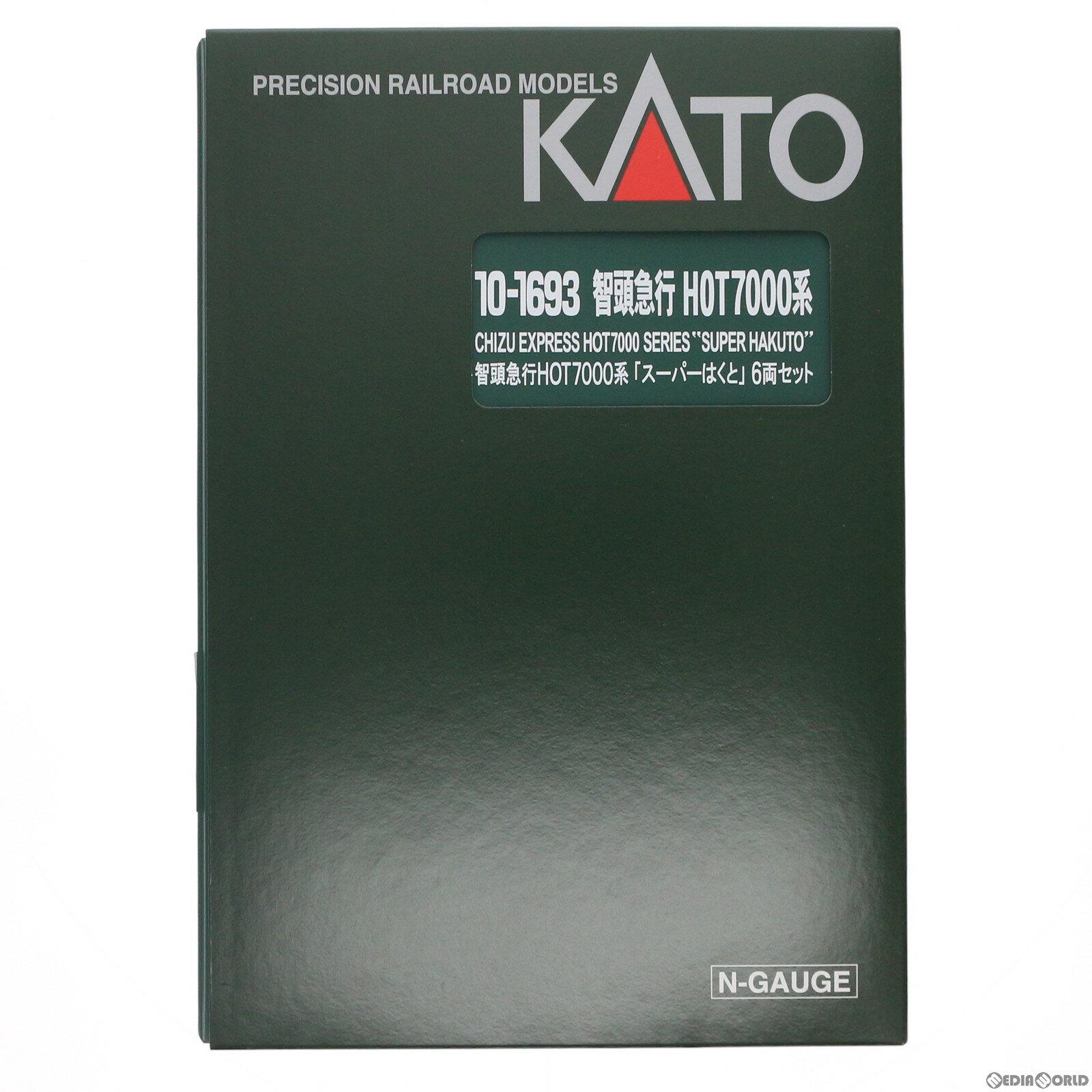 【予約安心発送】[RWM]10-1693 智頭急行 HOT7000系「スーパーはくと」 6両セット(動力付き) Nゲージ 鉄道模型 KATO(カトー)(2021年12月)