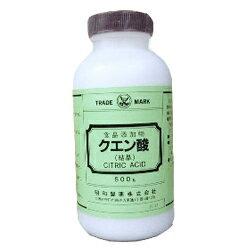 【昭和製薬】クエン酸 500g【RCP】【10P03Dec16】