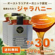 オーガニックジャラ・ハニーTA30+(250g)2