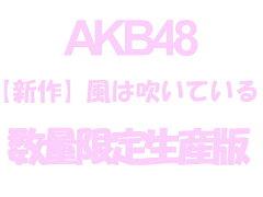 【TypeB】【握手会イベント参加券封入】新曲(AKB48:風は吹いている)<初回限定Type-Bイベン...