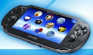 ★Wi-Fiモデル★SONY PlayStation Vita(プレイステーション・ヴィータ)PCH-1000ZA01クリスタル...